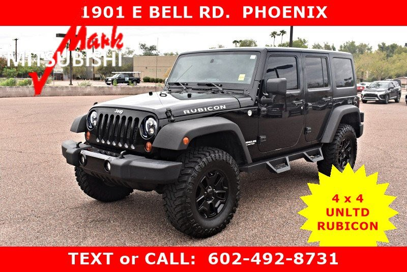 Pre Owned 2013 Jeep Wrangler Unlimited Rubicon 4X4