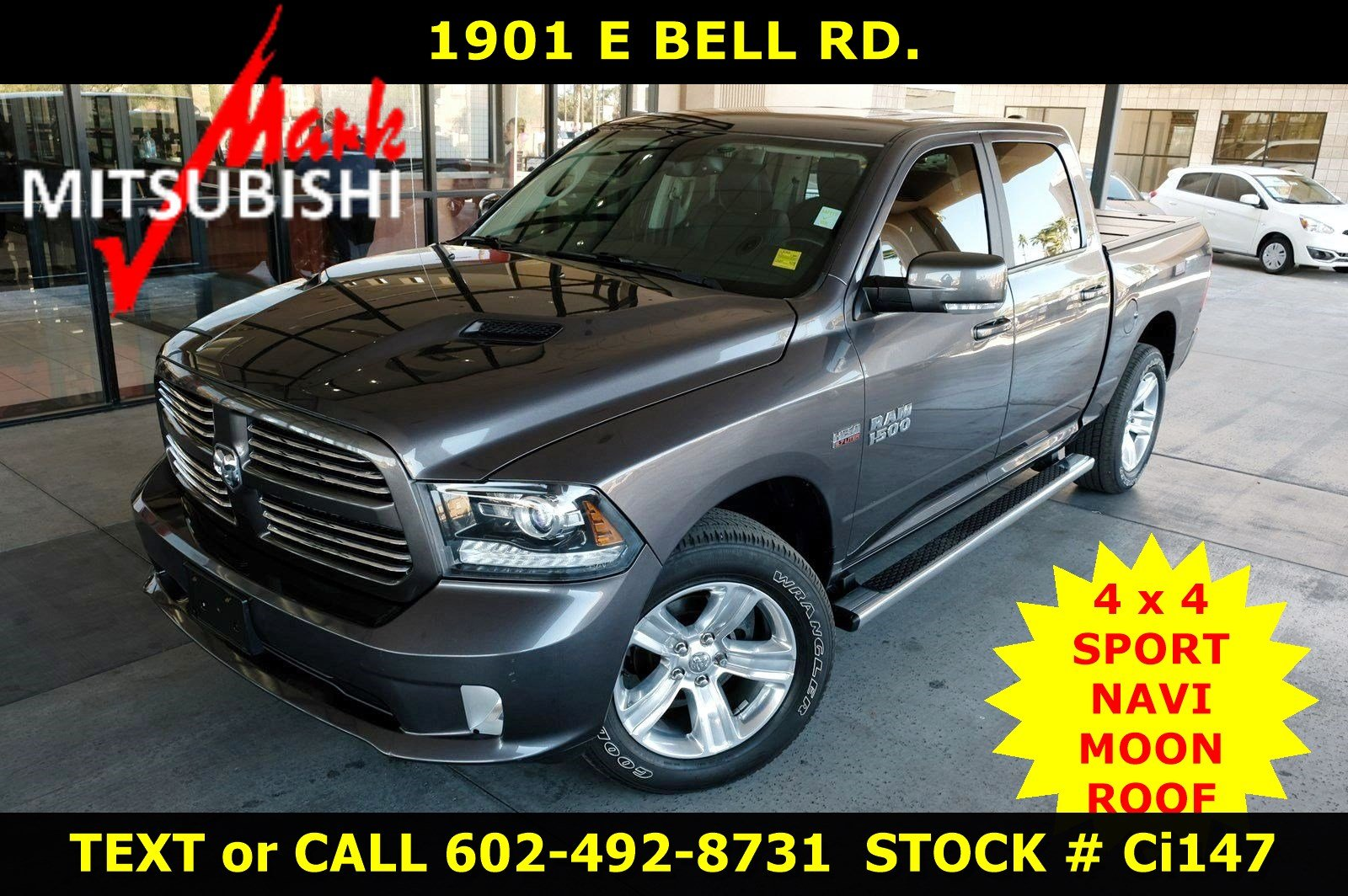 Pre-Owned 2017 Ram 1500 Sport 4X4