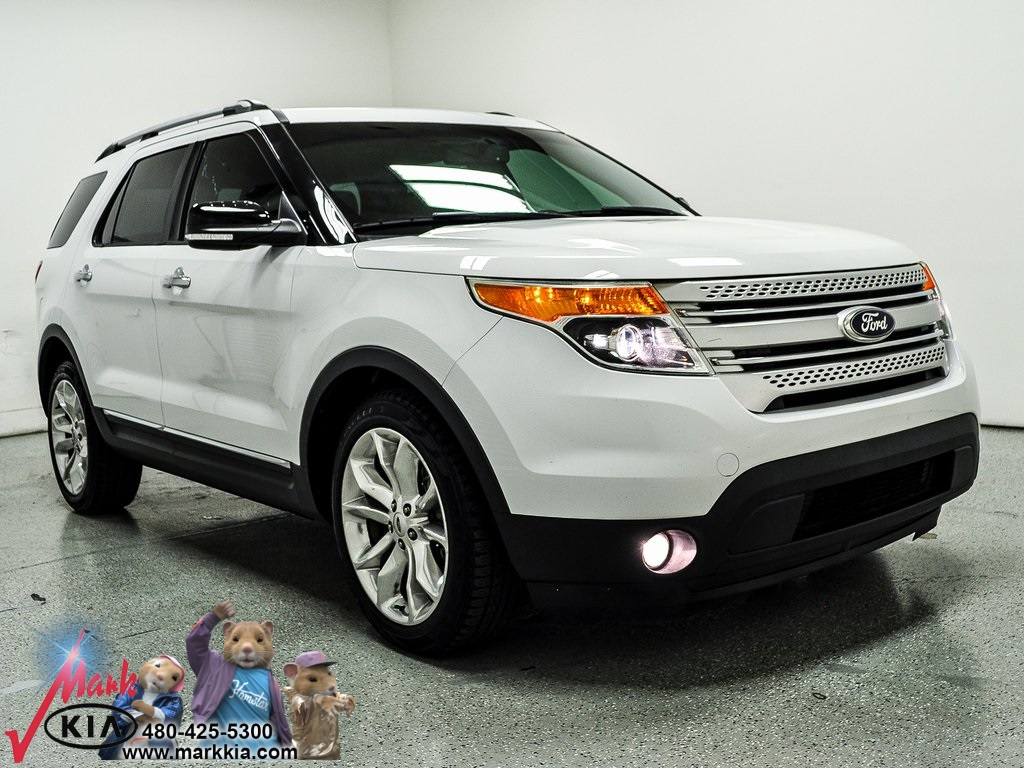 2013 Ford Explorer Xlt >> Pre Owned 2013 Ford Explorer Xlt Fwd 4d Sport Utility