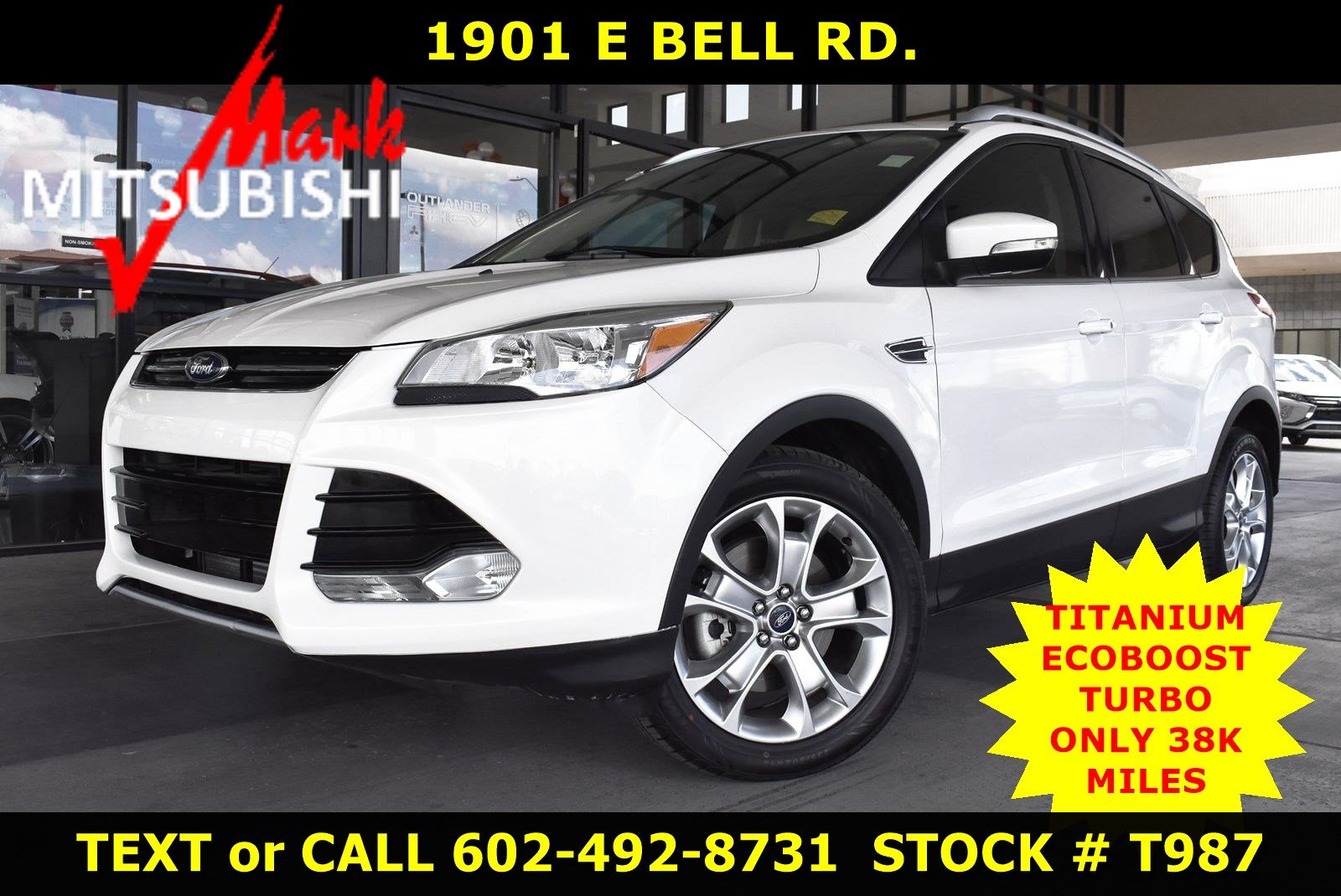 2014 Ford Escape Tires >> Pre Owned 2014 Ford Escape Titanium With Navigation