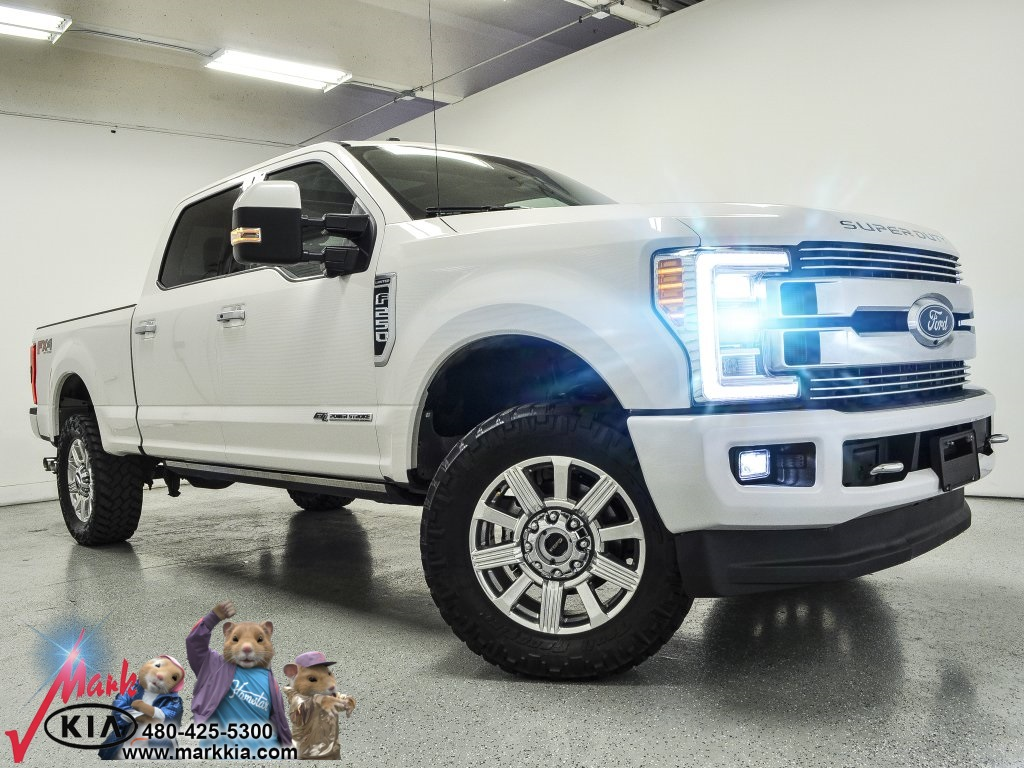 Pre-Owned 2018 Ford F-250SD Limited