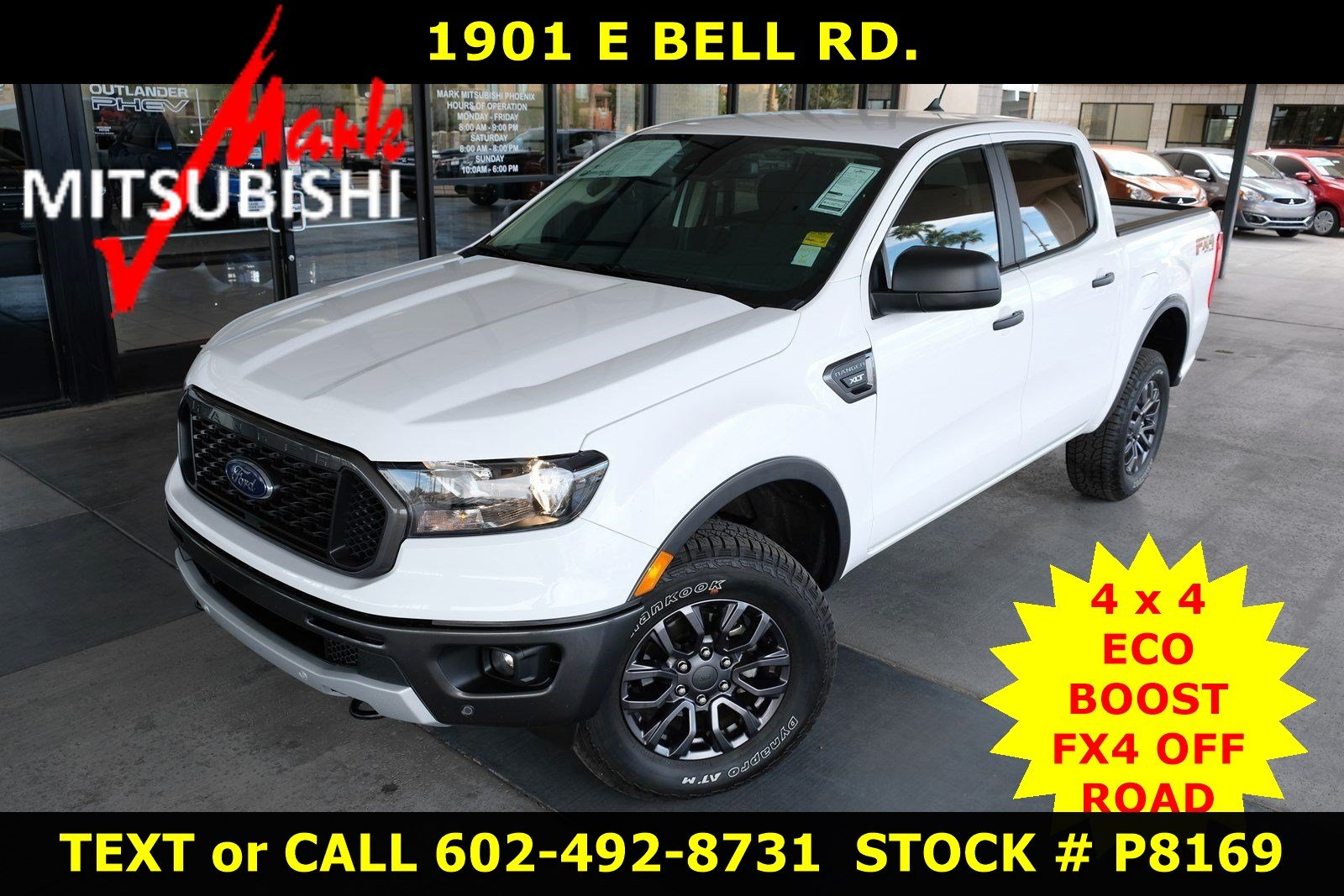 Pre-Owned 2019 Ford Ranger XLT 4X4 ECO
