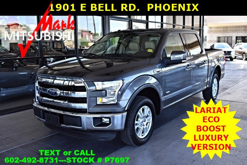 Pre-Owned 2015 Ford F-150 Lariat ECO BOOST