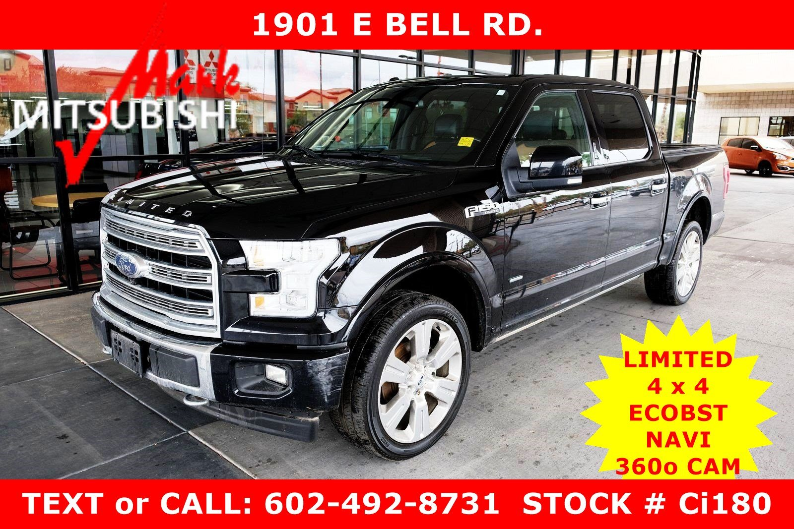 Pre-Owned 2017 Ford F-150 Limited 4 x 4 ECO