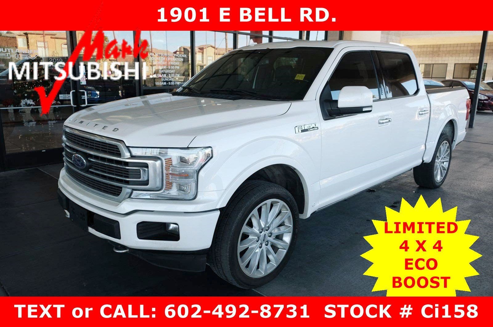 Pre-Owned 2018 Ford F-150 Limited 4X4 ECO