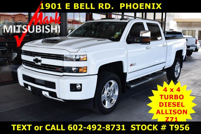 Pre-Owned 2018 Chevrolet Silverado 3500HD LTZ 4X4 DIESEL