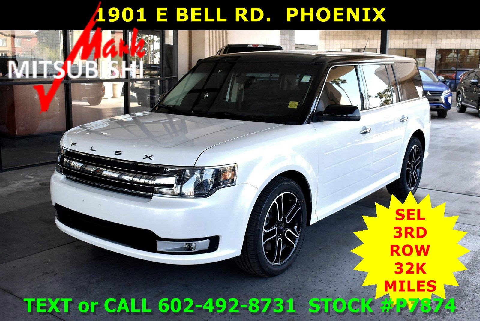Pre-Owned 2015 Ford Flex SEL 3 ROW