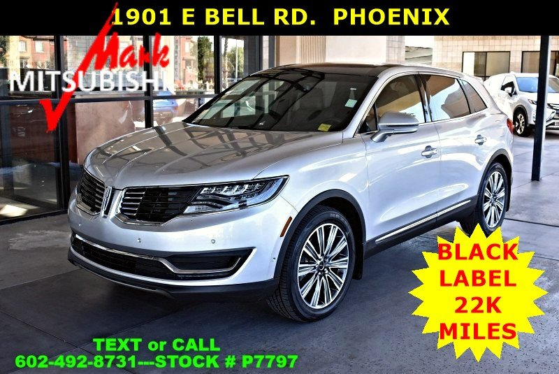 Pre Owned 2016 Lincoln Mkx Black Label Suv