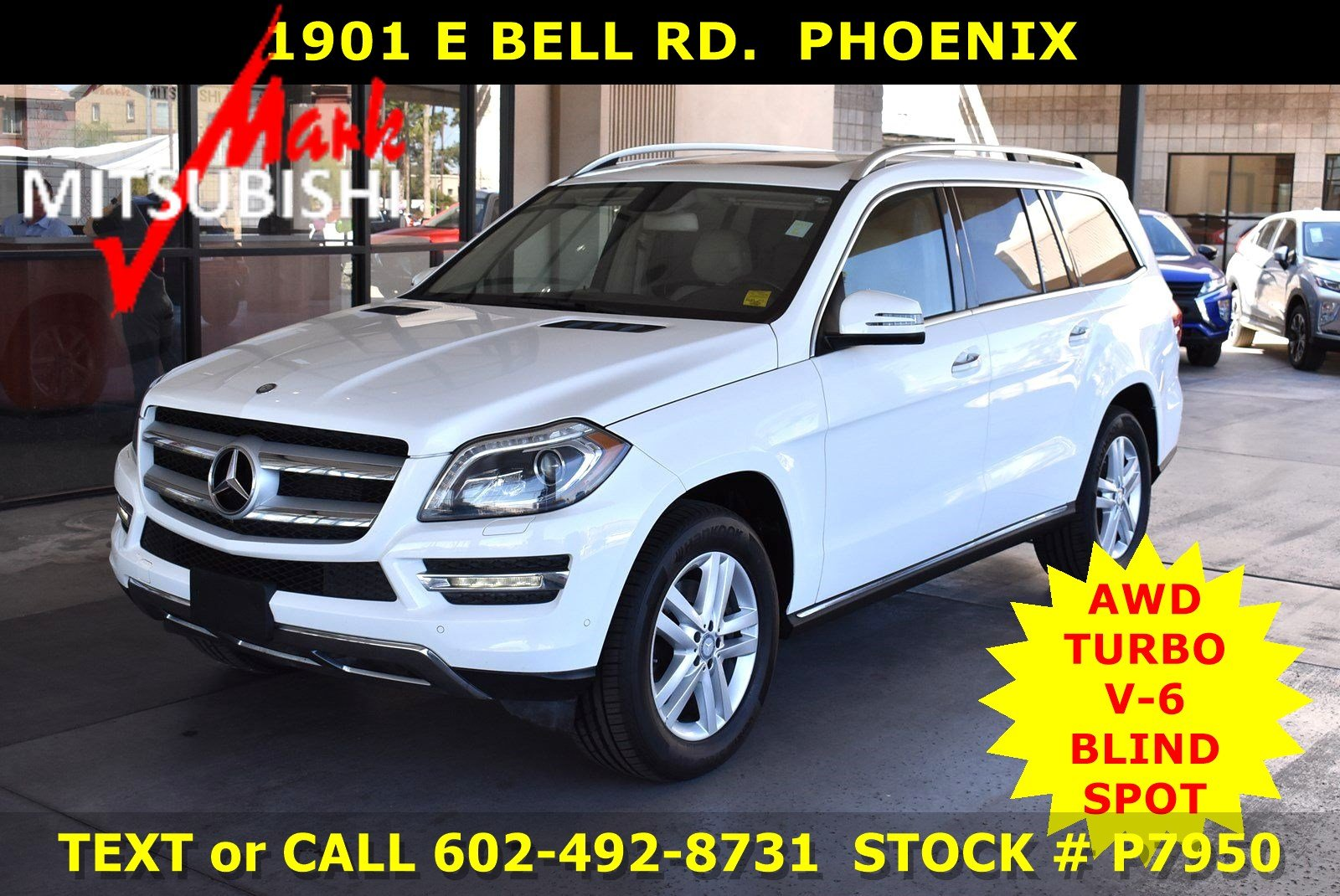 Pre-Owned 2016 Mercedes-Benz GL 450 AWD TURBO