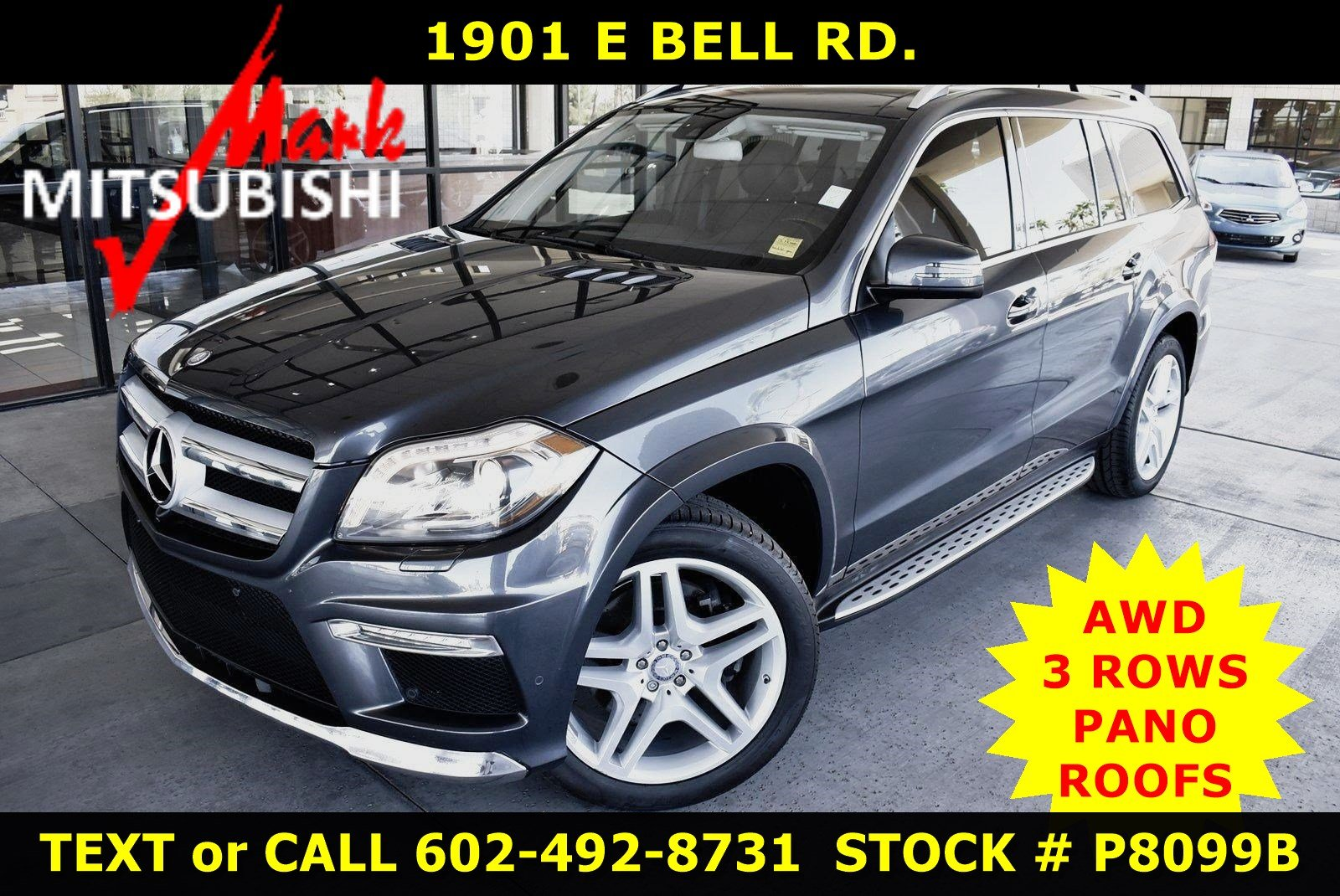 Pre-Owned 2014 Mercedes-Benz GL-Class GL 550 AWD