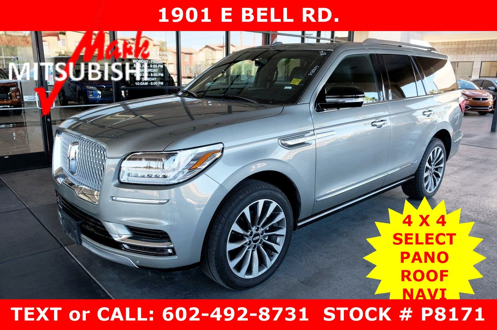Pre-Owned 2019 Lincoln Navigator Select 4X4 ECO