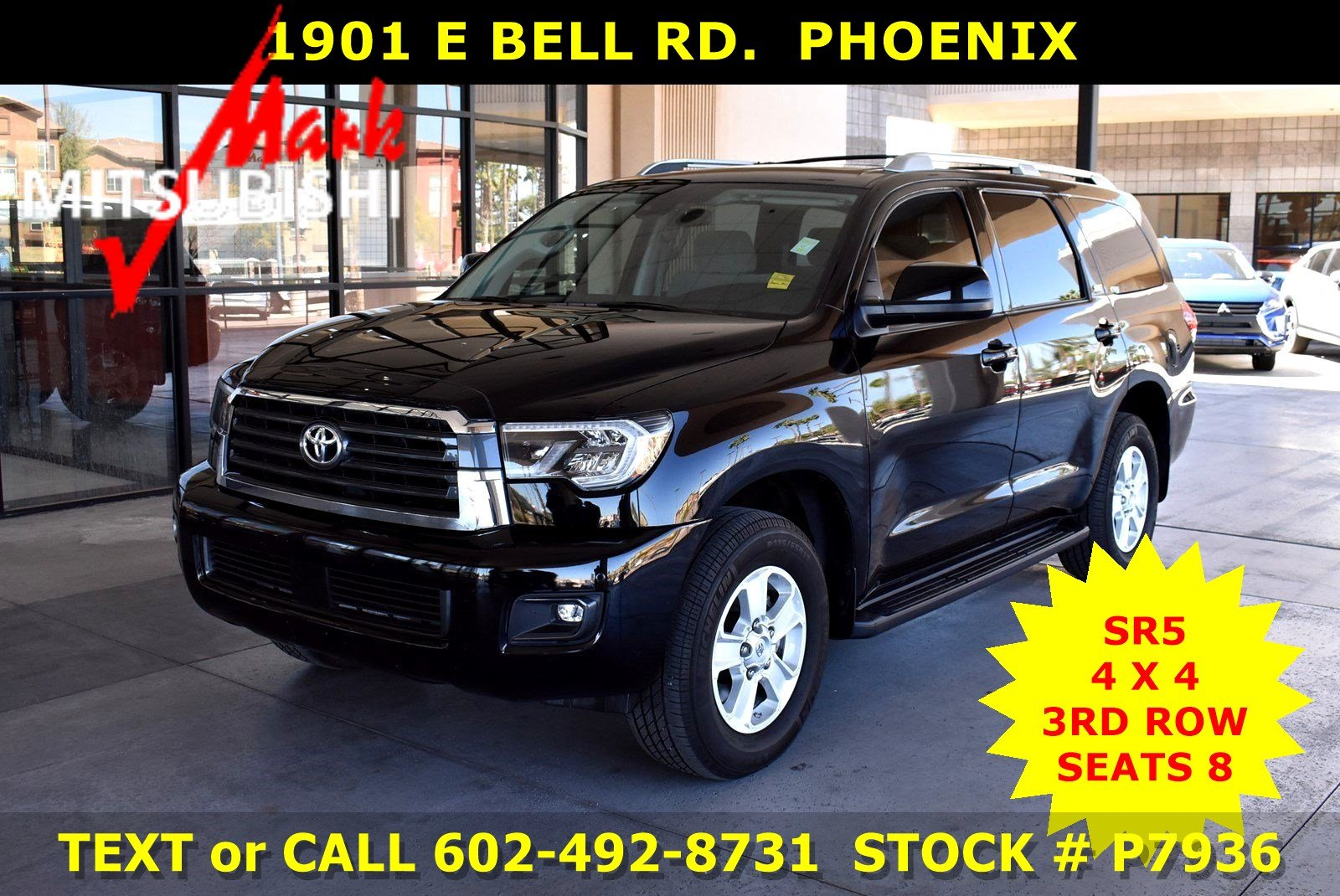Pre-Owned 2018 Toyota Sequoia SR5 4X4