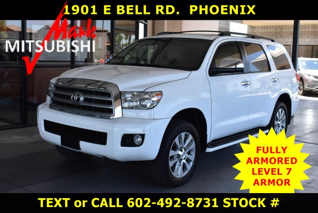 Pre-Owned 2012 Toyota Sequoia Limited FULLY ARMORED VEHICLE