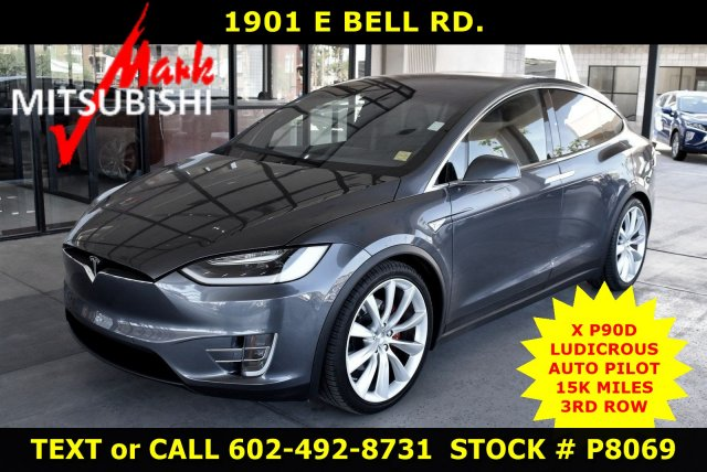 Pre Owned Tesla >> Pre Owned 2016 Tesla Model X P90d Awd Ludicrous With Navigation Awd