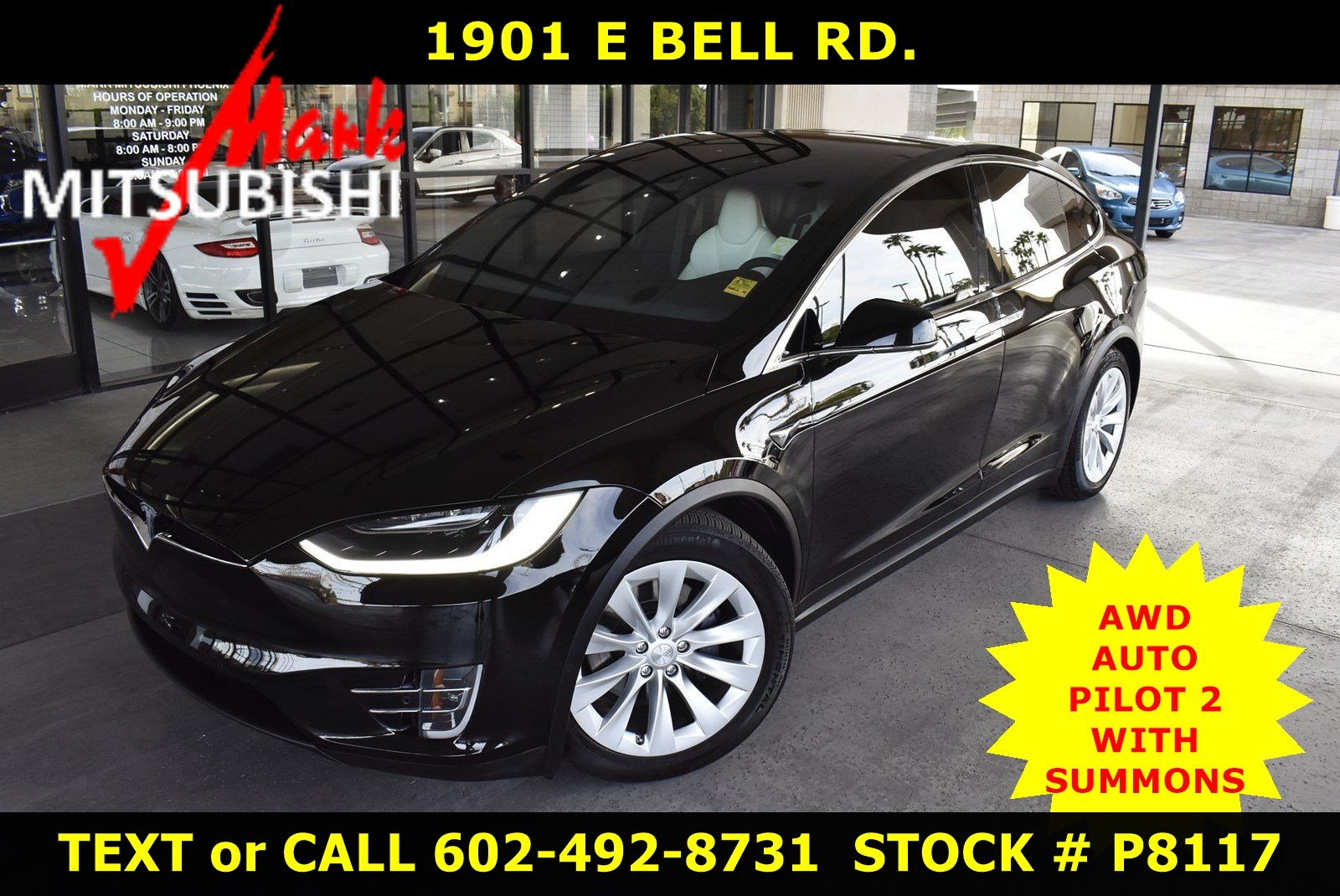 Pre Owned Tesla >> Pre Owned 2018 Tesla Model X 100d Awd With Navigation Awd