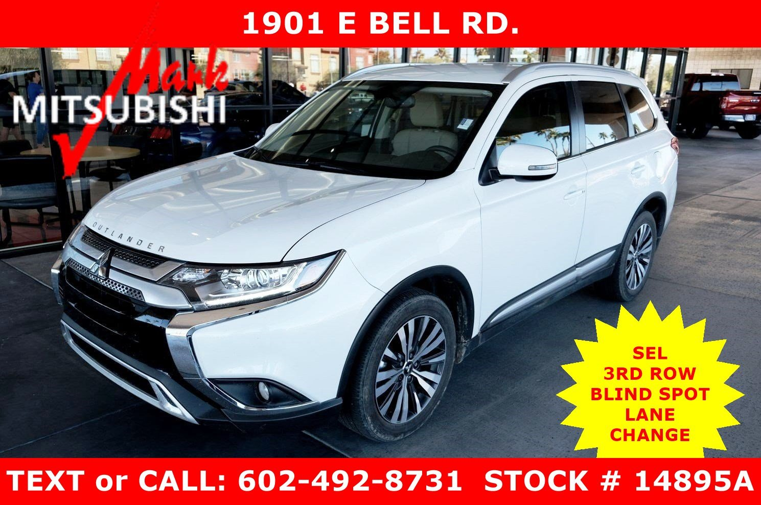 Pre-Owned 2019 Mitsubishi Outlander SEL