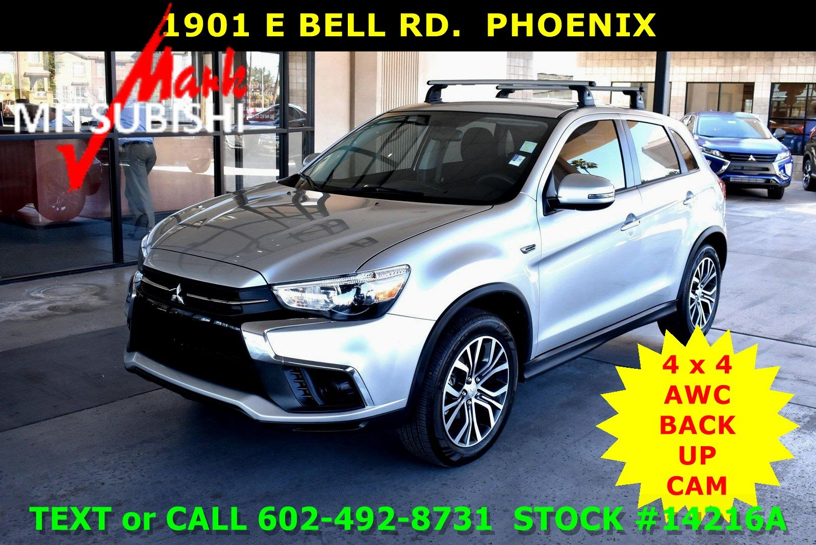 Pre-Owned 2018 Mitsubishi Outlander Sport ES 2.0 4X4 AWC