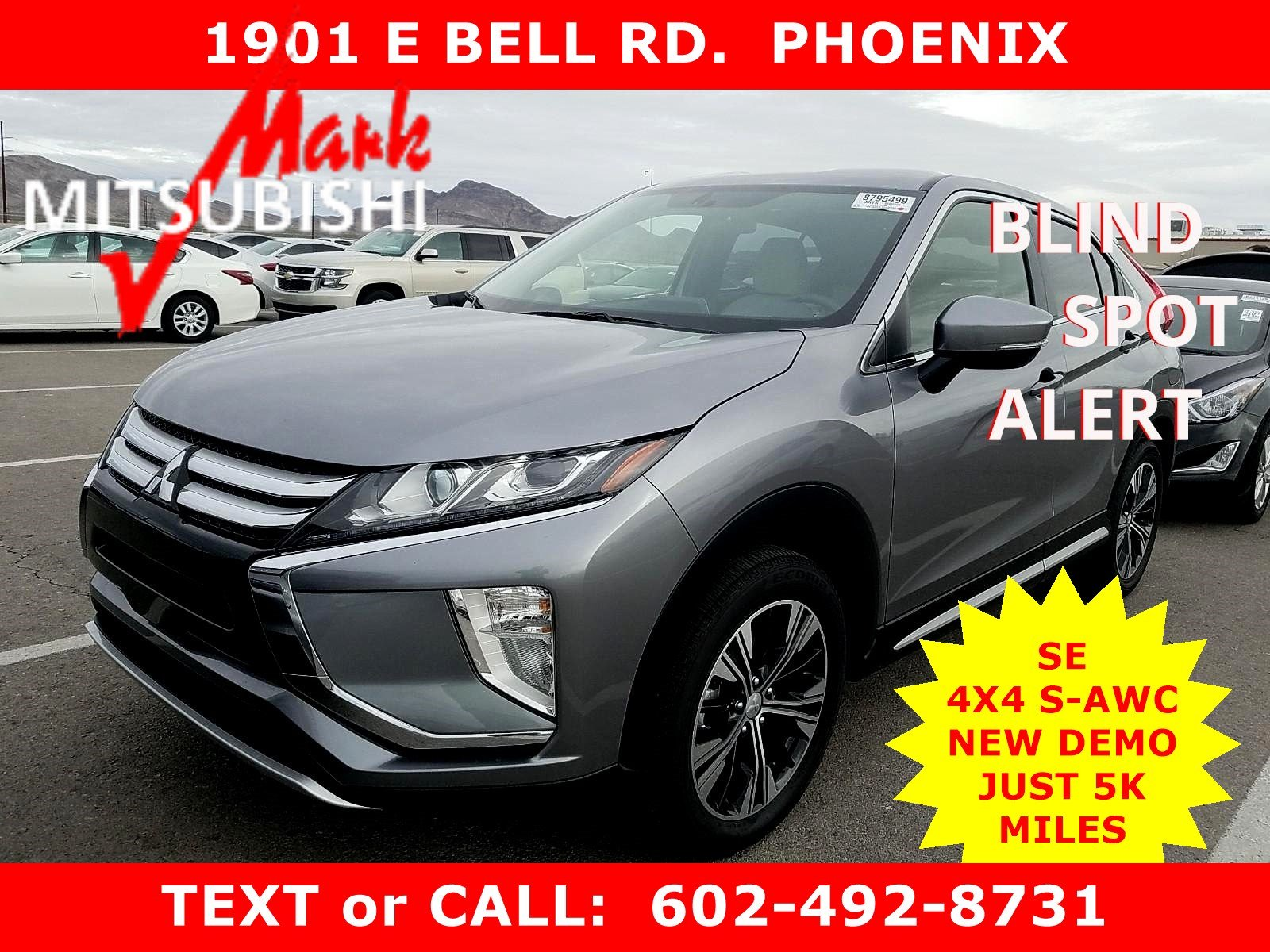 Pre-Owned 2018 Mitsubishi Eclipse Cross SE 4X4 AWC