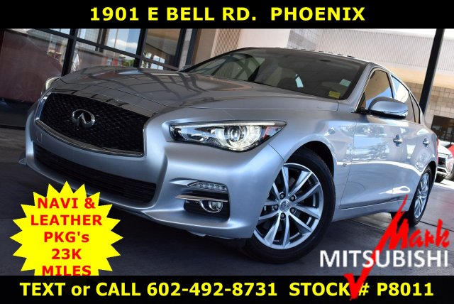 Pre-Owned 2015 INFINITI Q50 Premium With Navigation