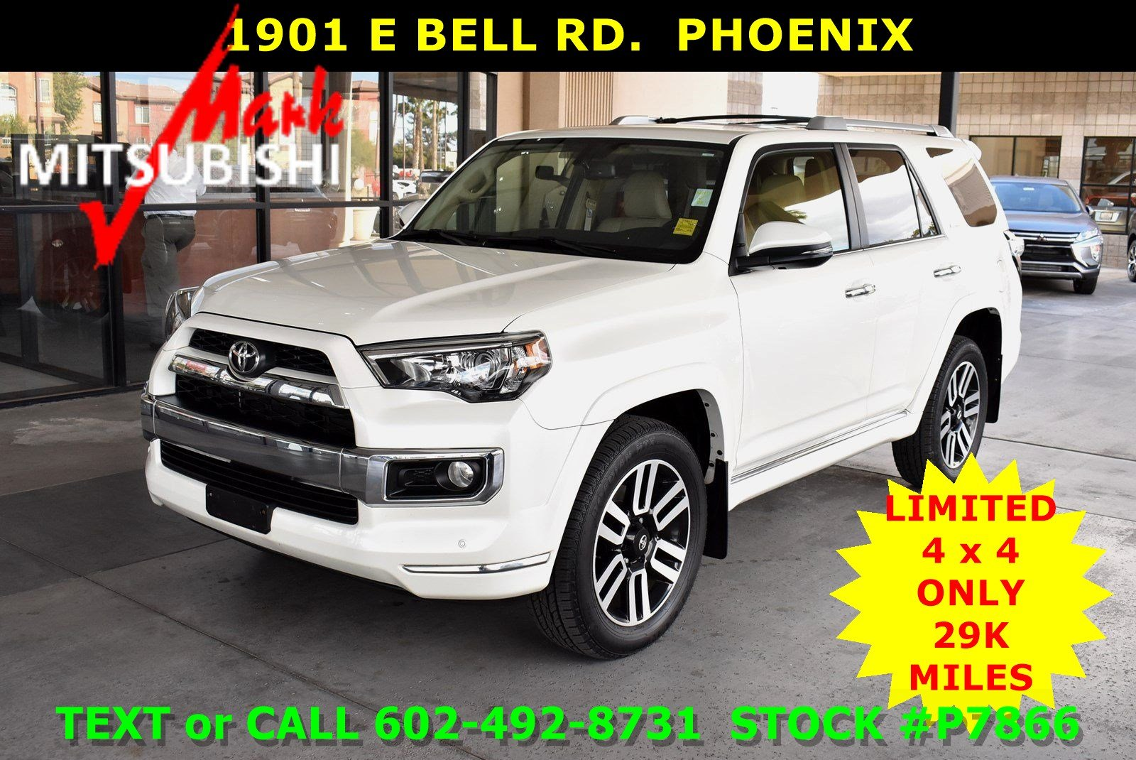 pre-owned 2014 toyota 4runner limited 4x4 3 row sport utility in
