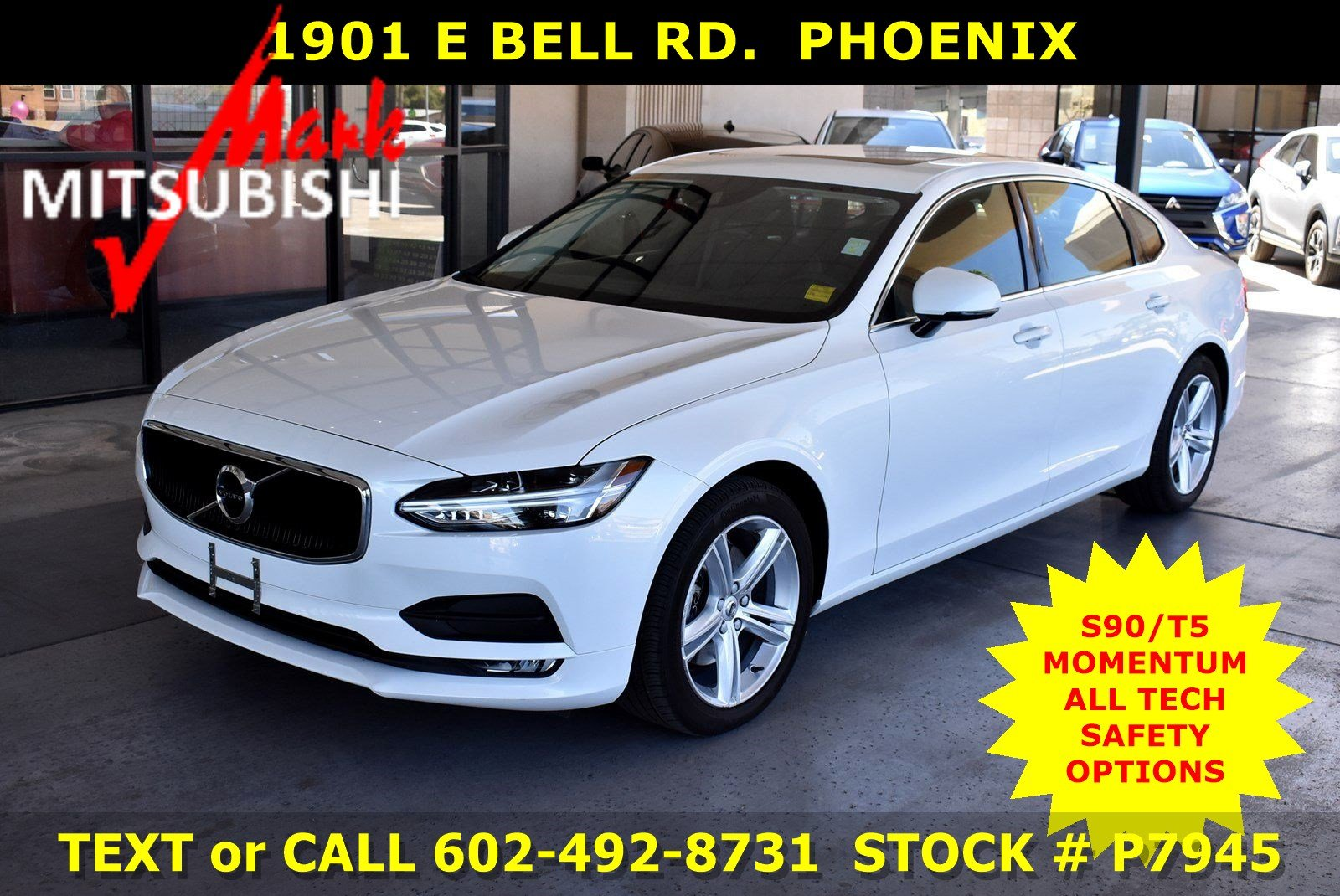 Pre-Owned 2018 Volvo S90 T5 Momentum TURBO