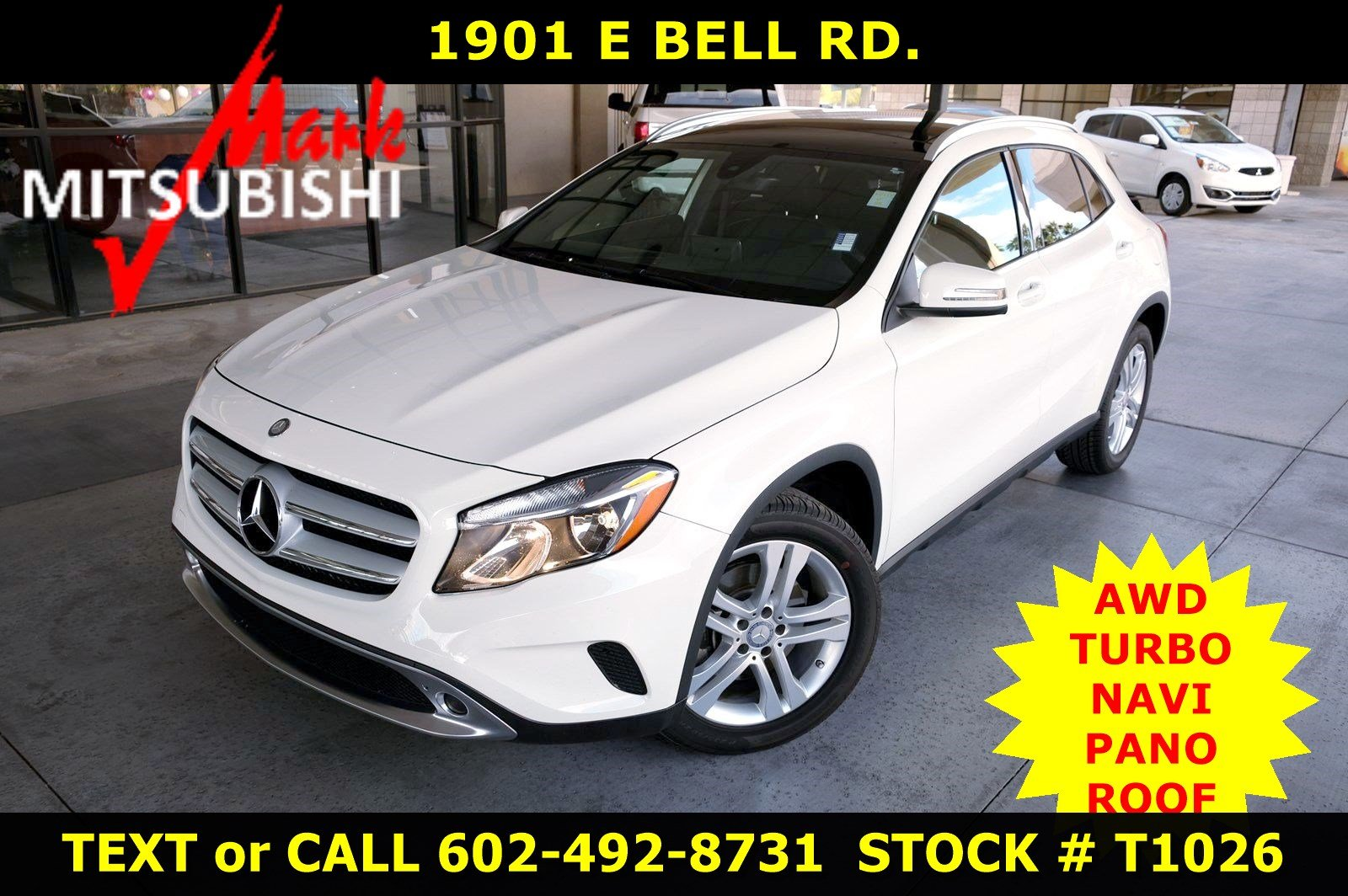 Pre-Owned 2017 Mercedes-Benz GLA GLA 250 AWD TURBO