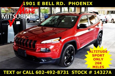 Pre-Owned 2016 Jeep Cherokee SPORT ALTITUDE