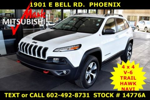 Pre-Owned 2014 Jeep Cherokee TrailhawK 4X4 V6