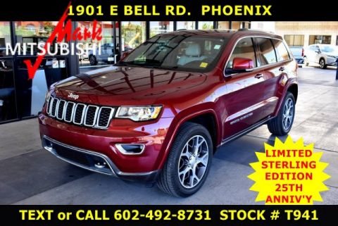 Pre-Owned 2018 Jeep Grand Cherokee LIMITED Sterling Edition 25TH ANNV