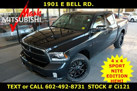 Pre-Owned 2018 Ram 1500 SPORT Night 4X4