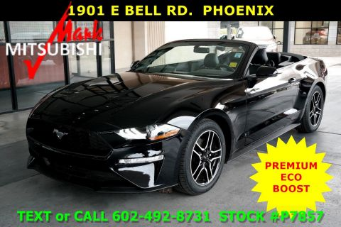 Pre-Owned 2018 Ford Mustang CONV EcoBoost Premium