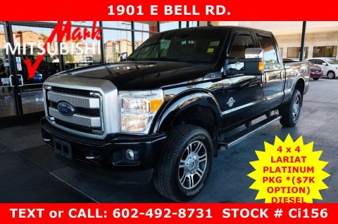 Pre-Owned 2016 Ford Super Duty F-250 SRW Lariat 4X4 DIESEL