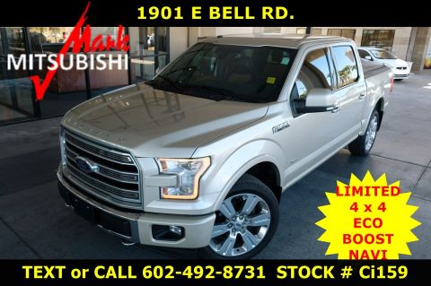 Pre-Owned 2017 Ford F-150 LIMITED 4X4 ECO
