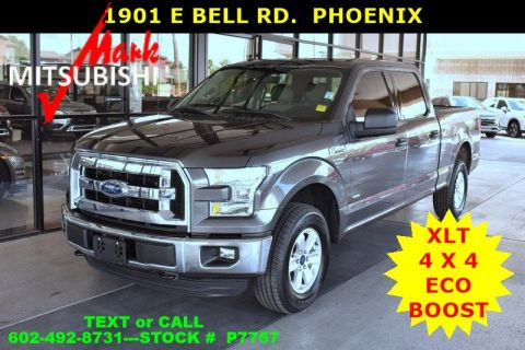 Pre-Owned 2015 Ford F-150 XLT 4X4 ECOBOOST