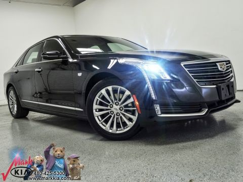Pre-Owned 2017 Cadillac CT6 2.0L Turbo Luxury