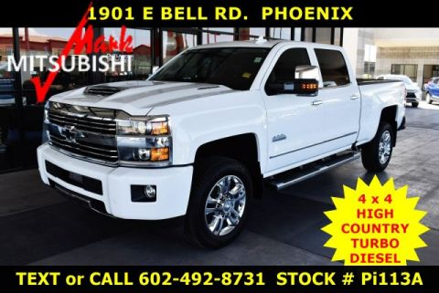 Pre-Owned 2017 Chevrolet Silverado 2500HD High Country 4X4 DIESEL