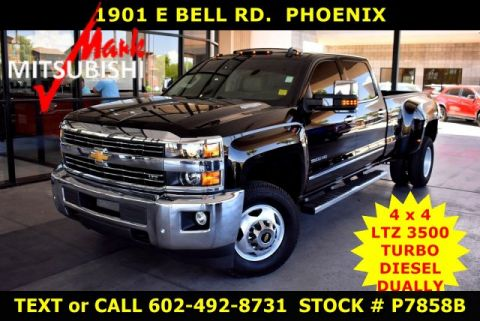 Pre-Owned 2016 Chevrolet Silverado 3500HD LTZ 4X4 DIESEL