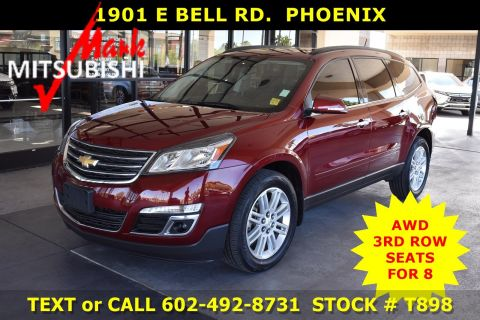Pre-Owned 2015 Chevrolet Traverse LT AWD 3 ROW