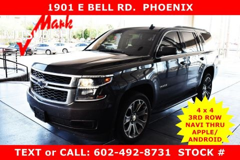 Pre-Owned 2017 Chevrolet Tahoe LS 4X4 3 ROW