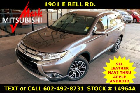 Pre-Owned 2018 Mitsubishi Outlander SEL 3 ROW
